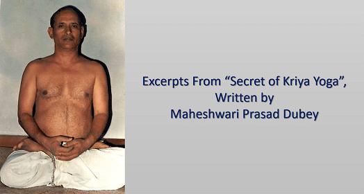 Secret of Kriya Yoga
