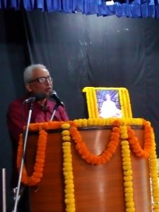 Shri Manas Chaudhury (Disciple of Shri Dubey Baba)
