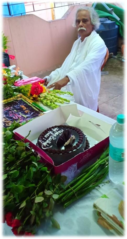 Gurubaba Dr. Sudhin Ray's Birthday